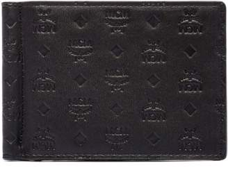 MCM Sigmund Money Clip In Monogram Leather
