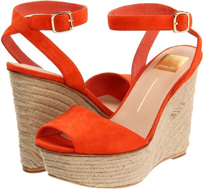 Dolce Vita Olly (Orange Red) - Footwear