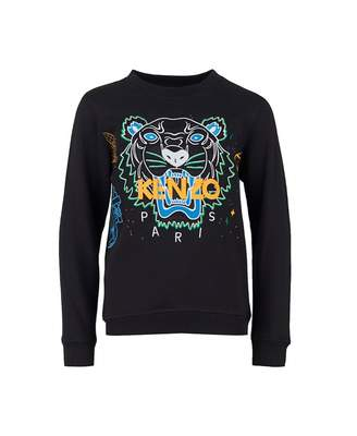 Kenzo Embroidered Cosmic Tiger Sweat