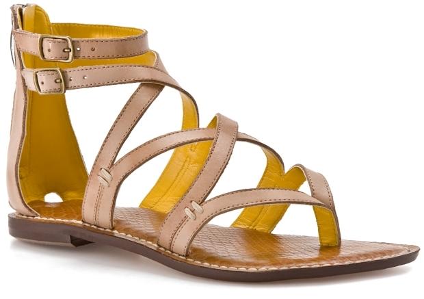 SE Boutique Gaynes Gladiator Sandal - Nude