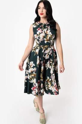 Unique Vintage Olson Swing Dress