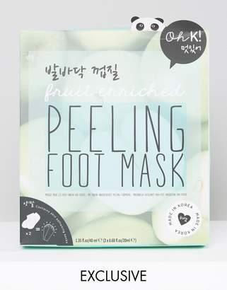 Oh K! Exfoliating Peeling Foot Gel Mask