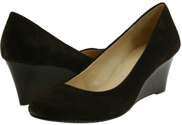 Calvin Klein Yana 2 (Dark Brown Suede) - Footwear