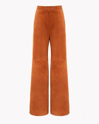 High-Waist Wide-Leg Leather Pant $1,195 thestylecure.com