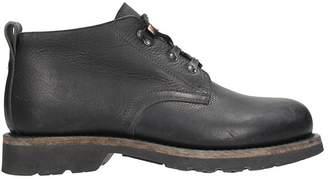 Maison Margiela Black Leather Low Boots