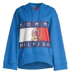 Tommy Hilfiger Tommy Flag Crest Cotton Hoodie