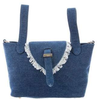 Meli-Melo Denim Satchel
