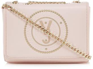 Versace Pink Studded Cross Body Bag