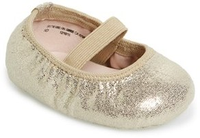 Infant Girl's Ruby & Bloom 'Josie' Crib Shoe $29.95 thestylecure.com