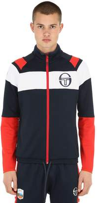 Sergio Tacchini Zip-up Cotton Blend Track Top