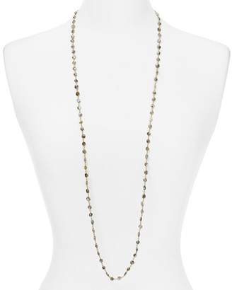 Ela Rae Diana Labradorite Coin Beaded Necklace, 42""