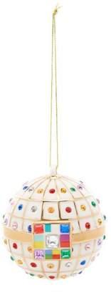 Alessi Porcelain Anello di Fidanzamento Ornament