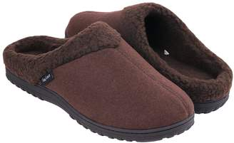 b58b42d24db2 Snug Leaves Men s Cozy Memory Foam Slippers Wool-Like Plush Fleece Lined  House Shoes w