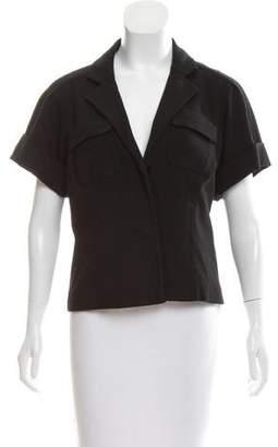 Diane von Furstenberg Oahu Short Sleeve Blazer