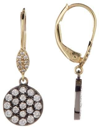 Meira T 14K Yellow Gold & Black Rhodium Diamond Drop Earrings - 0.53 ctw