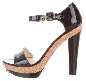 Prada Cork Platform Women s Sandals - ShopStyle 455e019fd2