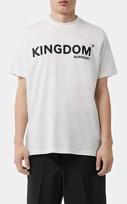 Burberry Men's Kingdom Cotton T-Shirt - White