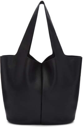 Jil Sander Navy Black East West Tote