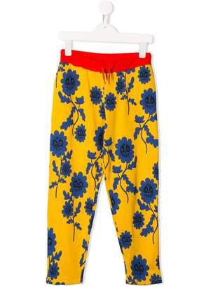 Mini Rodini floral print trousers