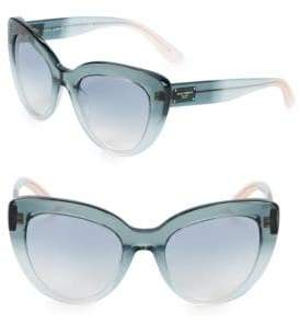 Dolce & Gabbana 53MM Lucite Cateye Sunglasses