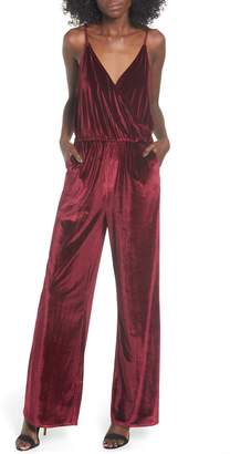 LIRA Velvet Jumpsuit