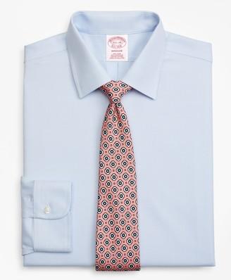 Brooks Brothers Madison Classic-Fit Dress Shirt, Non-Iron Dobby Micro-Dot