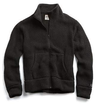 Todd Snyder + Champion Polartec Fullzip Jacket in Black