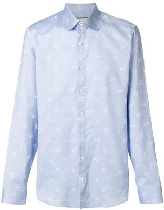 Gucci embroidered shirt