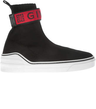 Givenchy 4g Web Knit Sneakers