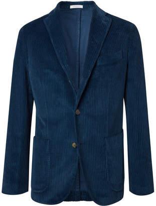 Boglioli Navy Cotton-Corduroy Suit Jacket