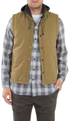 UNIONBAY Men's Cameron Canvas Quilted Vest