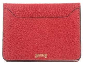Smythson Textured Leather Cardholder