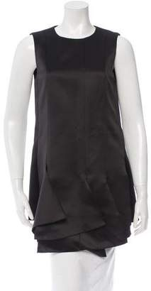 Tibi Sleeveless Satin Tunic w/ Tags