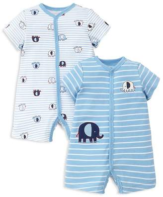 Little Me Boys' Elephant Rompers, Set of 2 - Baby