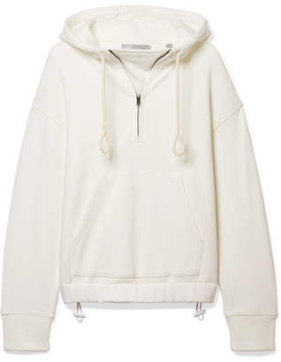 Vince Cotton-jersey Hooded Top - Off-white