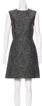 Balenciaga Matelassé Sheath Dress