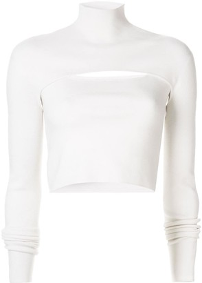 Dion Lee slim-fit layered top