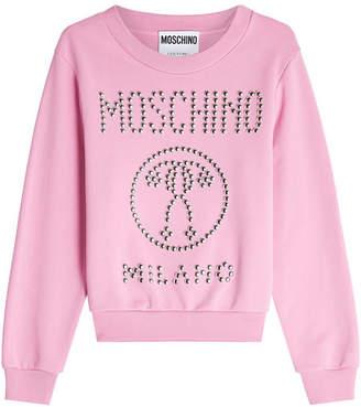 Moschino Stud Embellished Sweatshirt