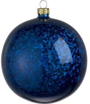Glitter Glass Ball Ornament