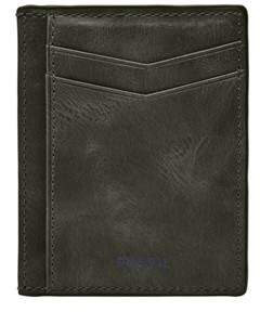 Fossil Rance Card Case Wallets Cement