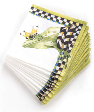 Mackenzie Childs Frog Paper Cocktail Napkins