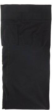Wolford Individual 10 Back Seam Tights - Womens - Black