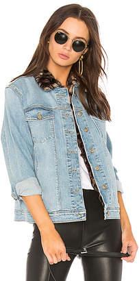 Joe's Jeans The Boyfriend Jacket with Faux Fur Collar.