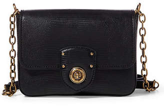 Lauren Ralph Lauren Textured Flap Crossbody Bag