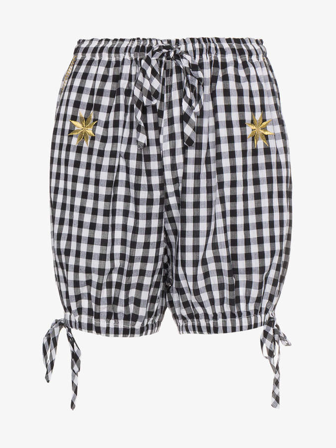 Innika Choo Avens Gingham Bloomers Shorts