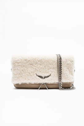 Zadig & Voltaire Rock Shearling Bag