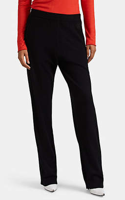 Givenchy Women's Cashmere Drop-Rise Jogger Pants - Black