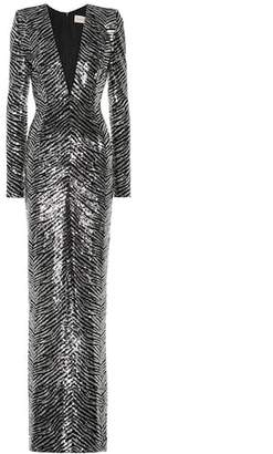 Alexandre Vauthier Sequined gown