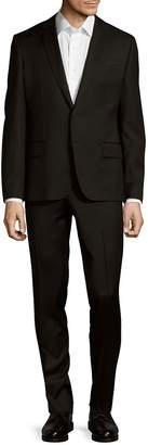 Pierre Balmain Men's Solid Wool Suit