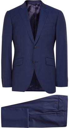 Blue Mayfair Slim-Fit Wool Suit $815 thestylecure.com